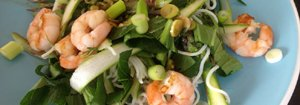 king prawns salad
