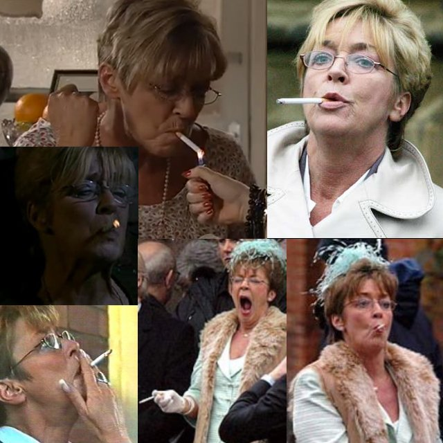 deirdre smoking