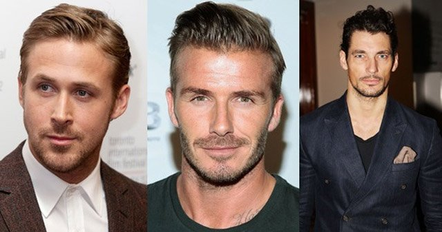 beckham facial hair