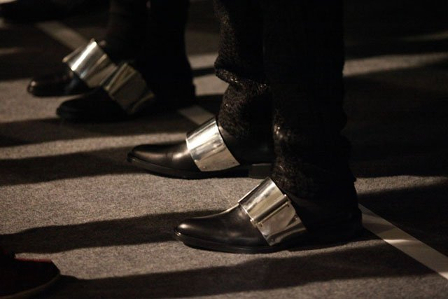 givenchy metal shoes