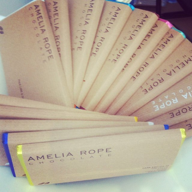 Speciality & Fine Food Fair 2013 amelia rope chocolate