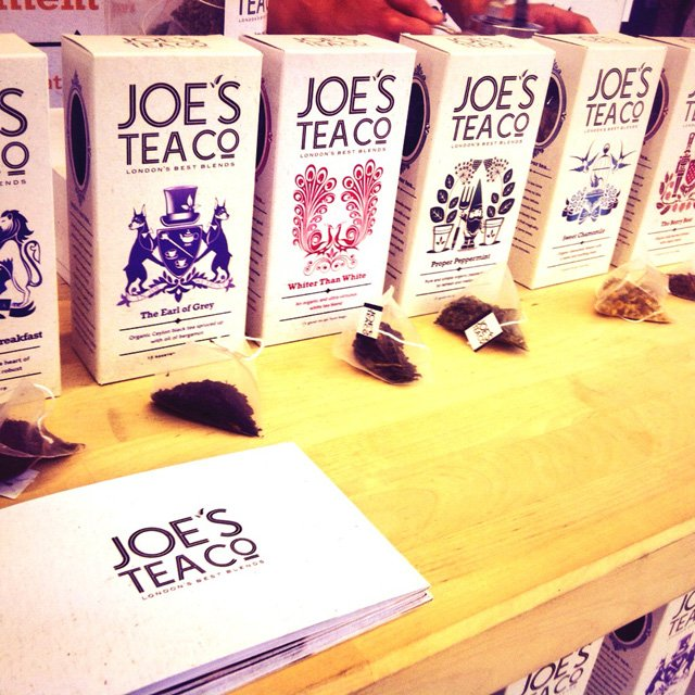 Speciality & Fine Food Fair 2013 joe's tea