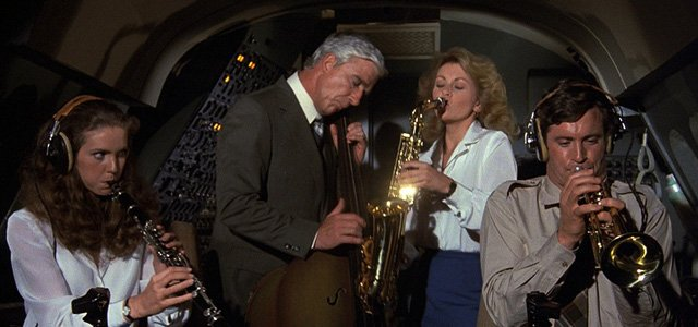 airplane saxophone