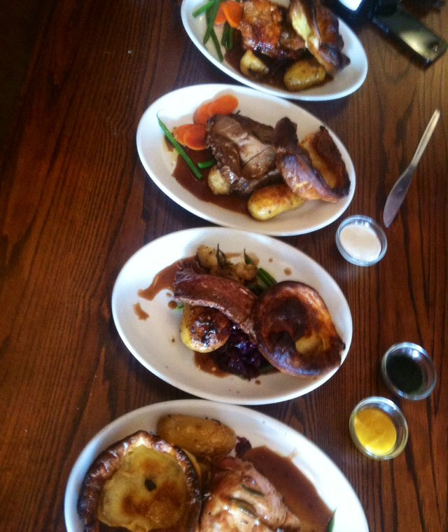 the white swan pub roast