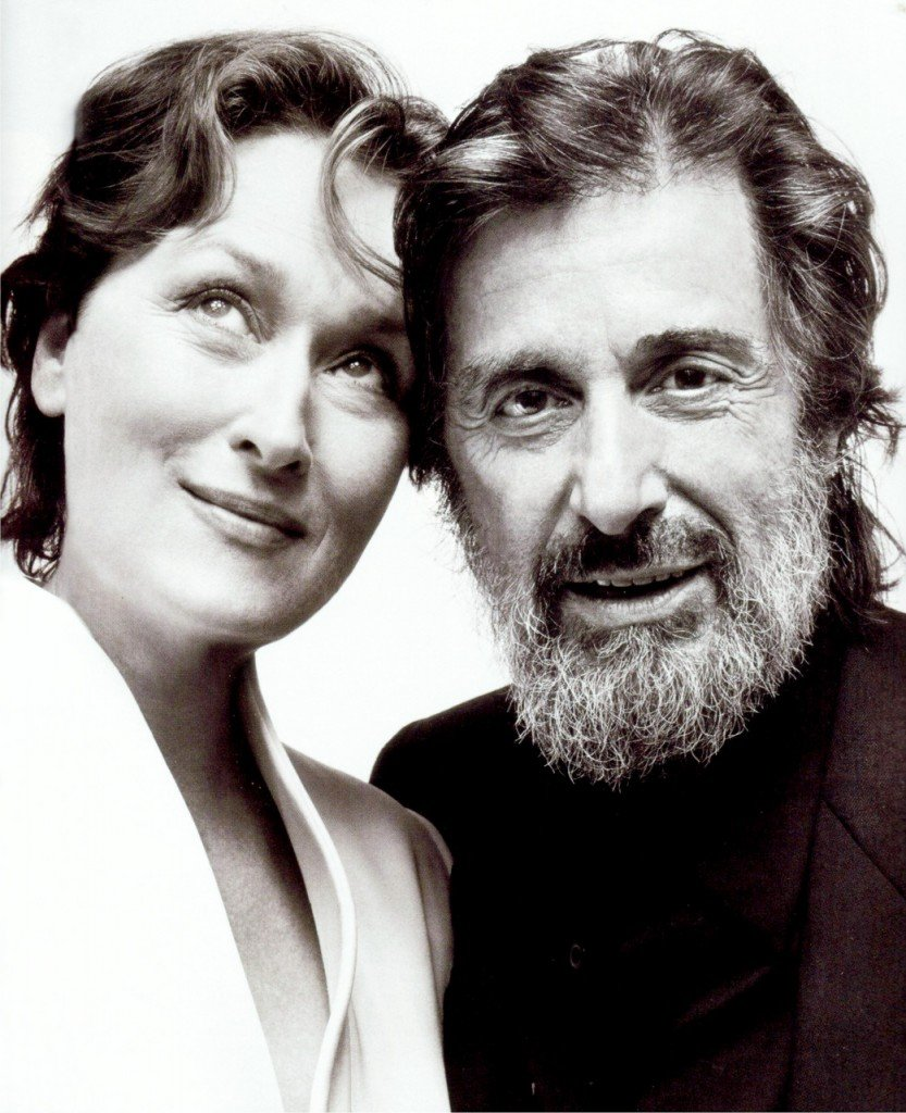 Meryl Streep and Al Pacion
