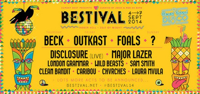 line up bestival