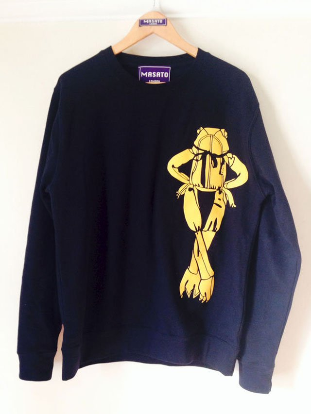 FROG DESIGN SWEATSHIRT