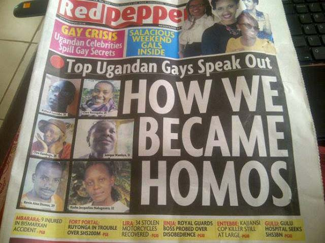 red pepper uganda gay lgbt paper