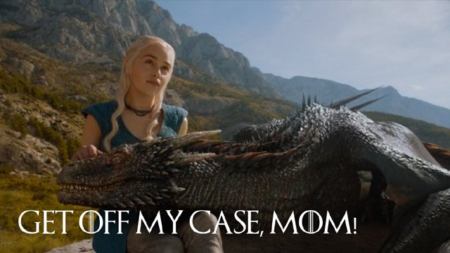 3 - Dany and Drogon