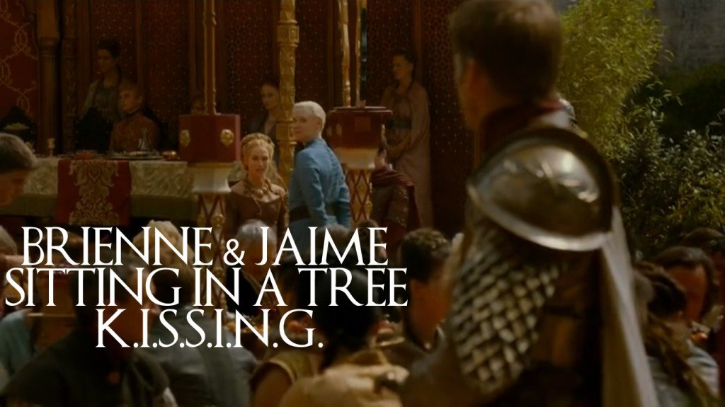 6 - Jaime and Brienne