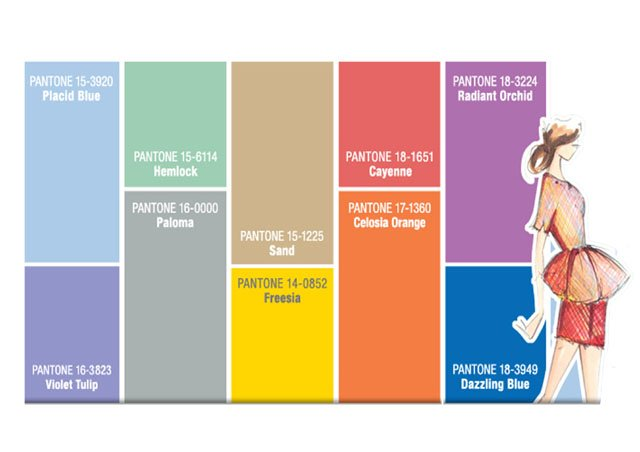 PANTONE COLOUR PICKS SS14