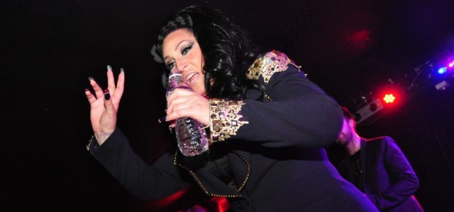 Michelle Visage waves at Pop Curious? presents The Hunty Game
