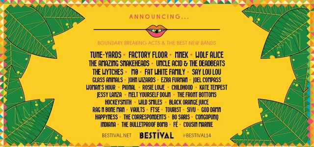bestival new acts