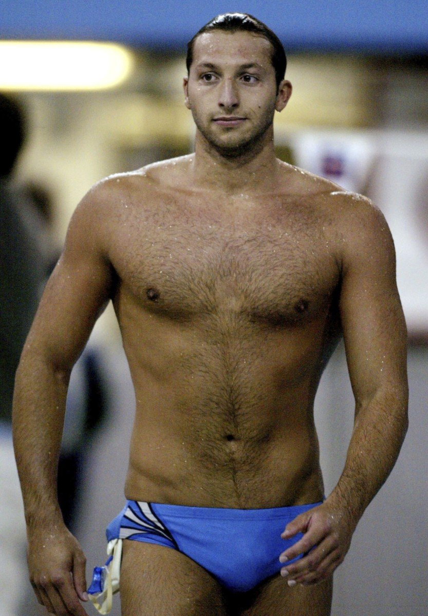 olympic swimmer gay