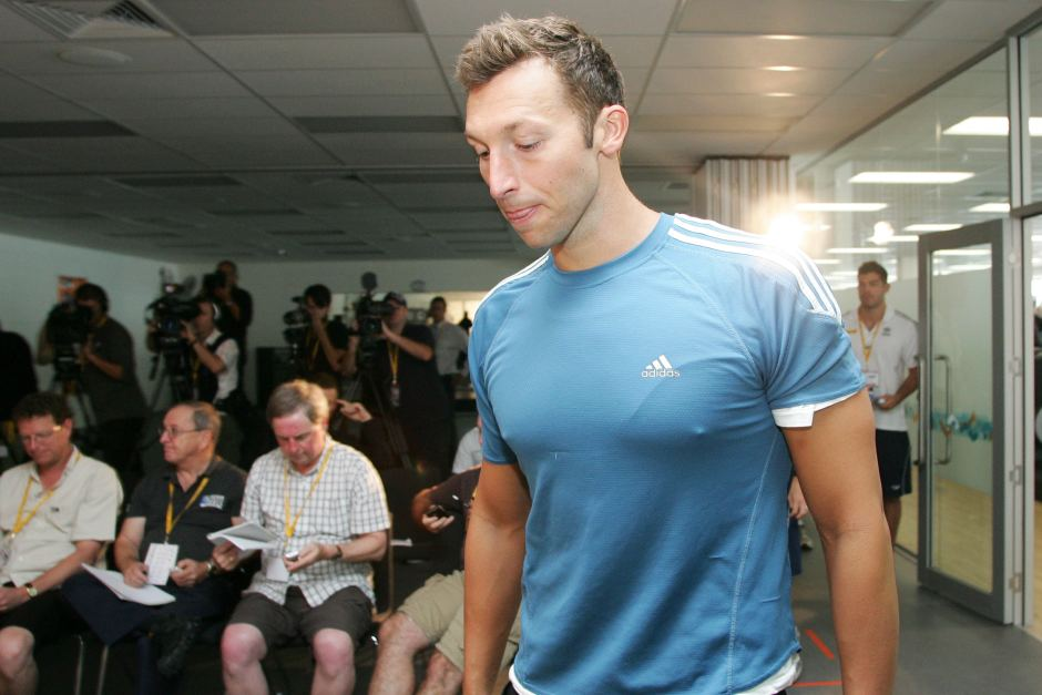 ian thorpe in contemplation