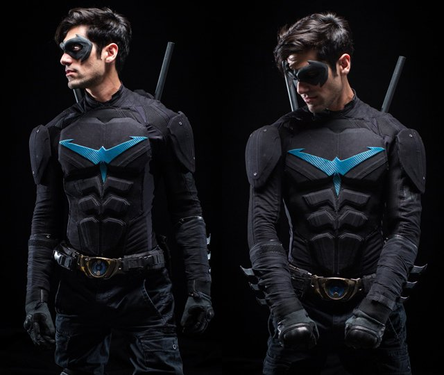 nightwing cosplay 2