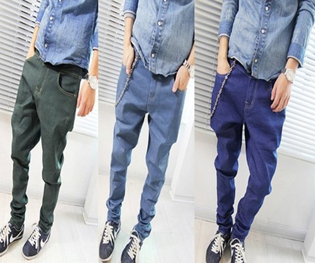 Men's Denim - CARROT FIT JEANS