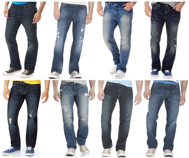 Men's Denim - MENS BOOT CUT JEANS