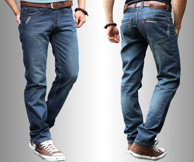 Men's Denim - STRAIGHT LEG FIT