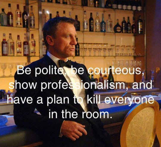 be polite be courteous