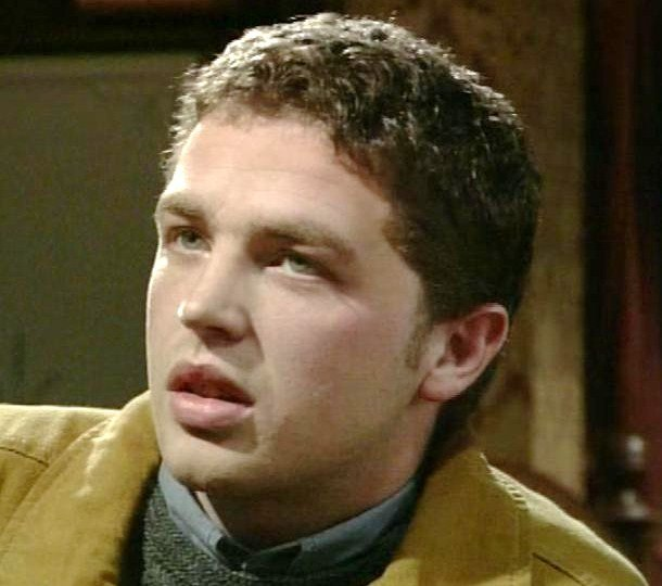 Lee in his early days - on Coronation Street.