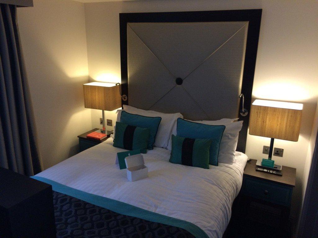 indigo hotel bed