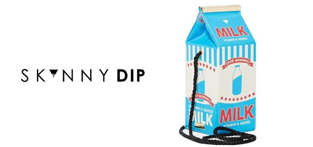 MILK CARTON CROSS BODY BAG