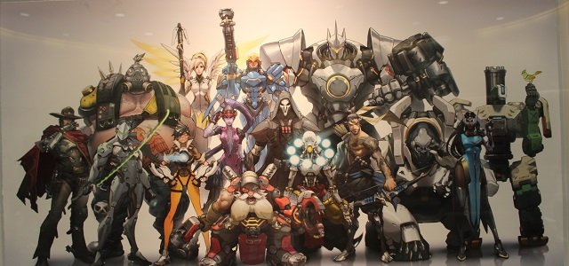 'The World Needs Heroes from Overwatch' by Arnold Tsang