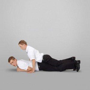 Gay Sex Position - Spooning