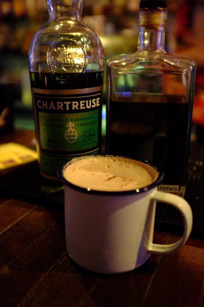 Chartreuse Hot Chocolate