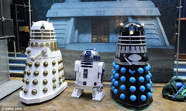 r2d2 and the daleks