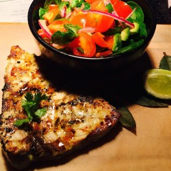 detox in London - Rudie's swordfish