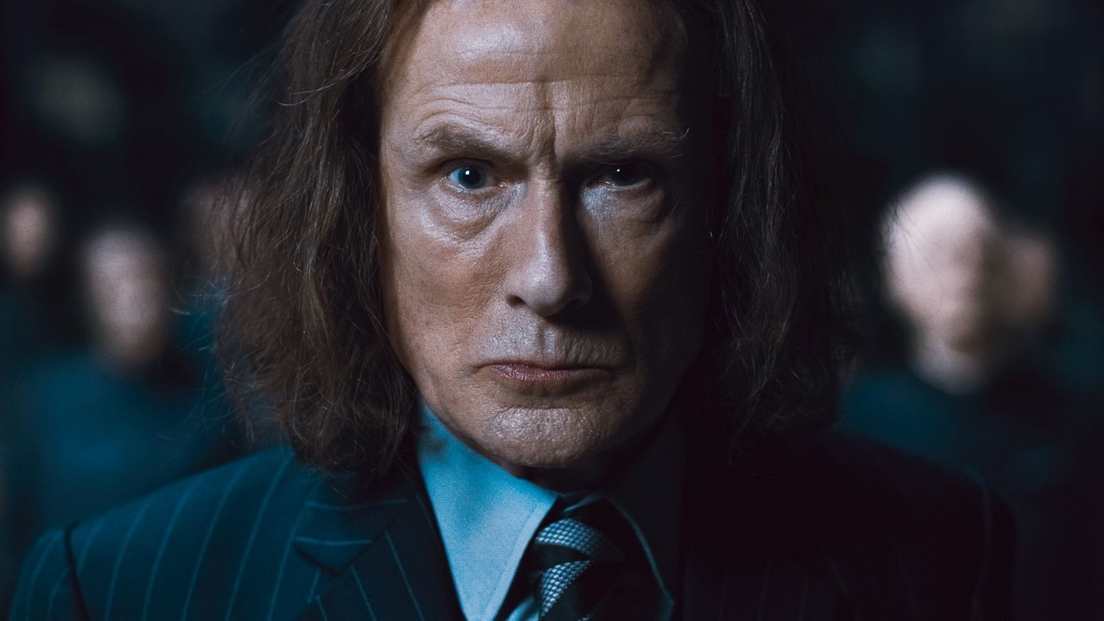 "BILL NIGHY as Rufus Scrimgeour in Warner Bros. Pictures' fantasy adventure ""HARRY POTTER AND THE DEATHLY HALLOWS – PART 1,"" a Warner Bros. Pictures release."