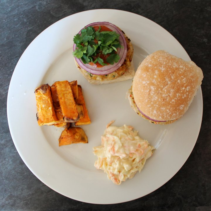 chilli and lime burgers