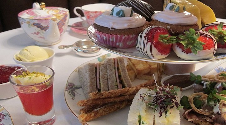 bridal shower afternoon tea at the arch london