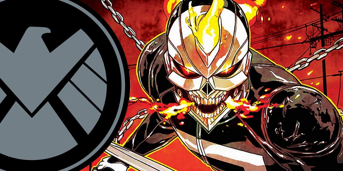Agents Of Shield Will Feature Ghost Rider Vada Magazine