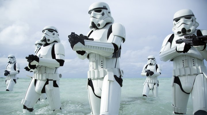 Rogue One A Star Wars Story stormtroopers maldives scarif