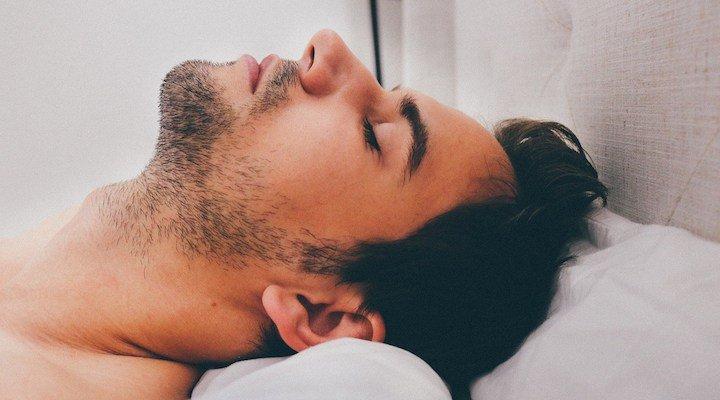 Orgasm during deep sleep