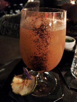 Quaglino's Glenfiddich whiskey cocktail