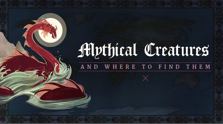Expedia Map on Mythical Creatures Around The World And Where To Find Them