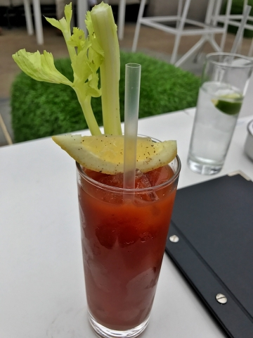 Madison London Sunday Brunch Bloody Mary