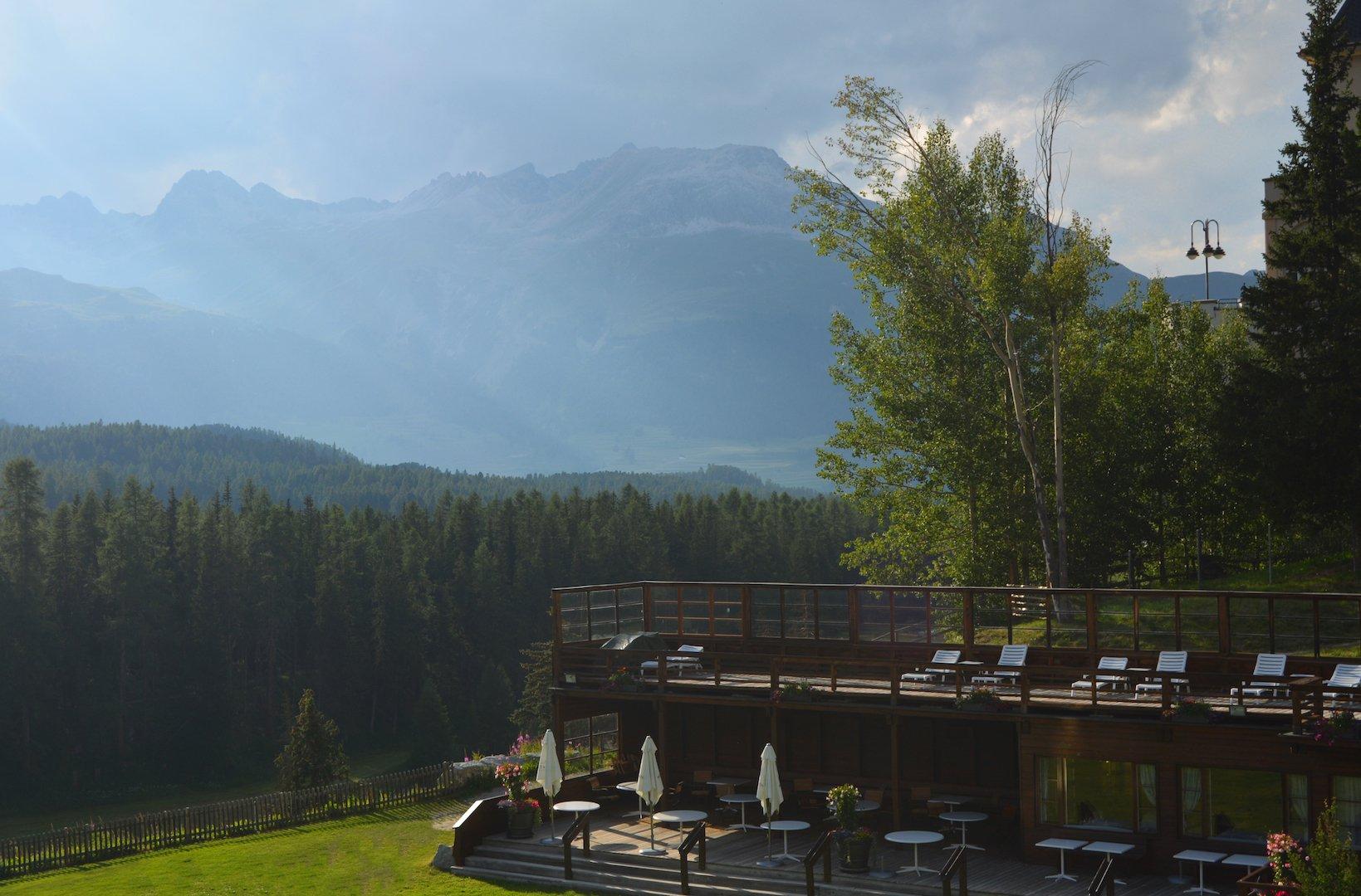 Grand hotel Kronenhof - The Pavilion