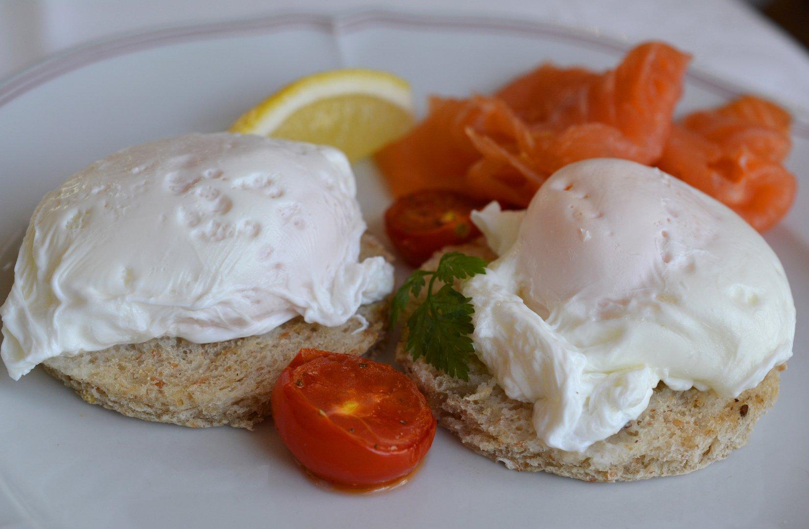 Grand hotel Kronenhof - breakfast