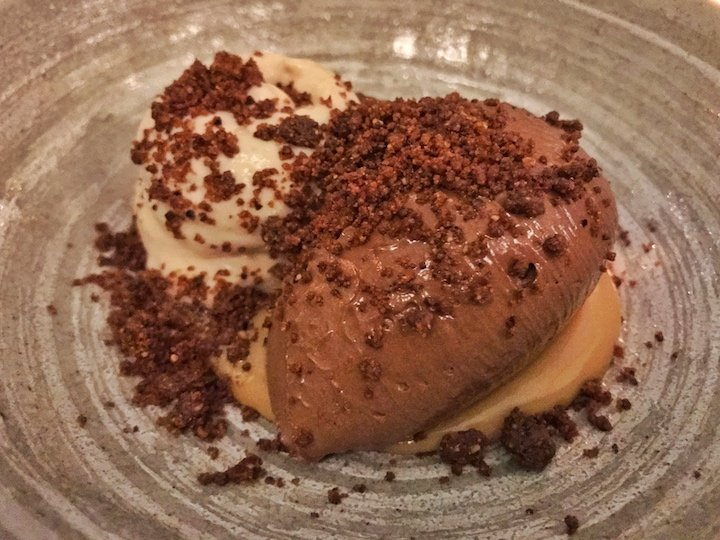 Picture Marylebone dark chocolate mousse dessert