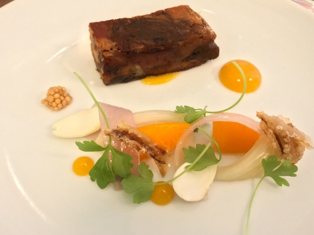 Picture Marylebone smoked pork with apricot and fennel