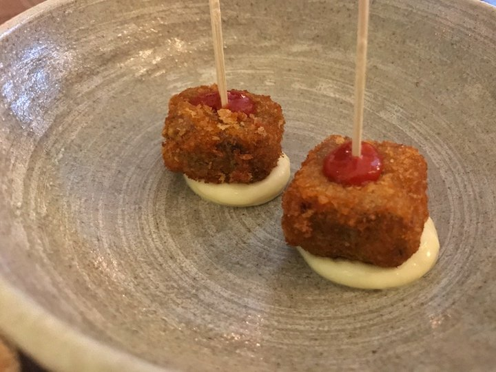 Picture Marylebone lamb bites