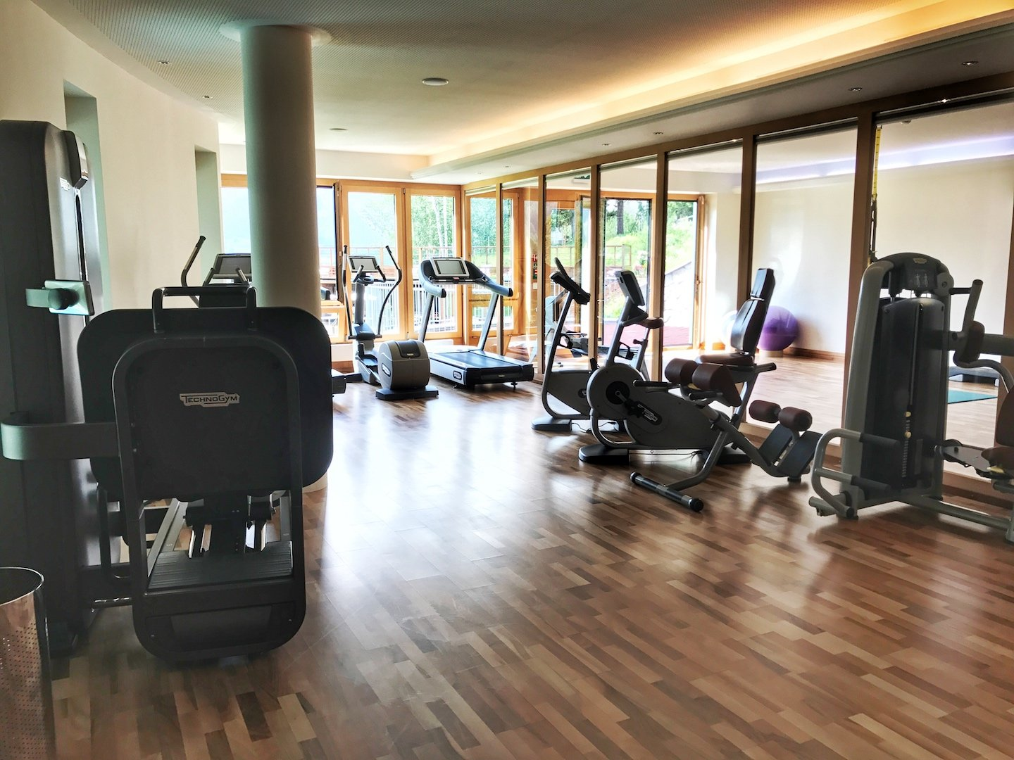 Grand hotel Kronenhof - fitness centre