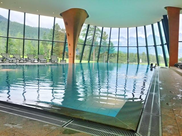 Grand hotel Kronenhof - pool