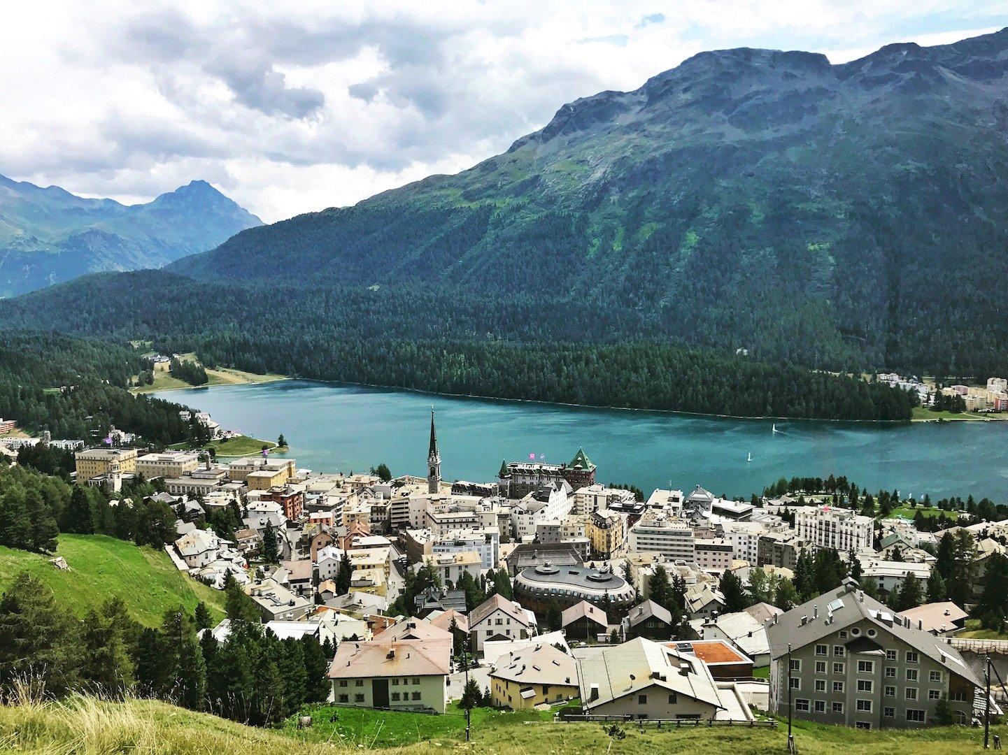 Kulm Hotel - St Moritz Lake