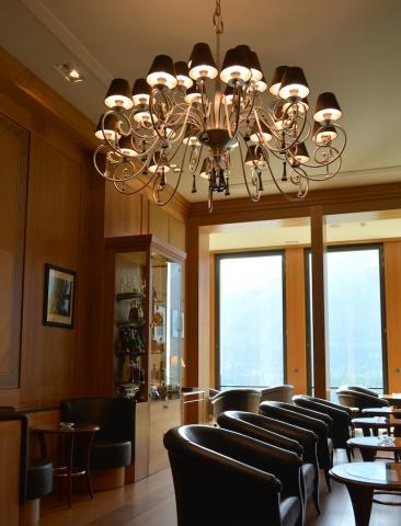 Kulm Hotel - Miles Davis smoking room